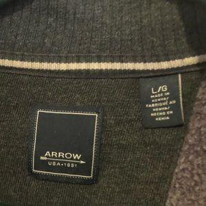 Men's Arrow quarter zip sweatshirt